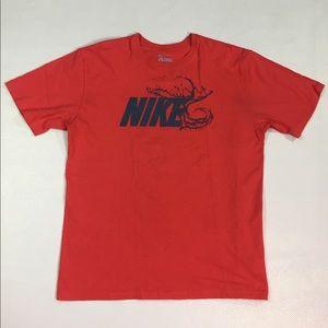Nike Spell Out Xl Shirt Orange Bright Orange